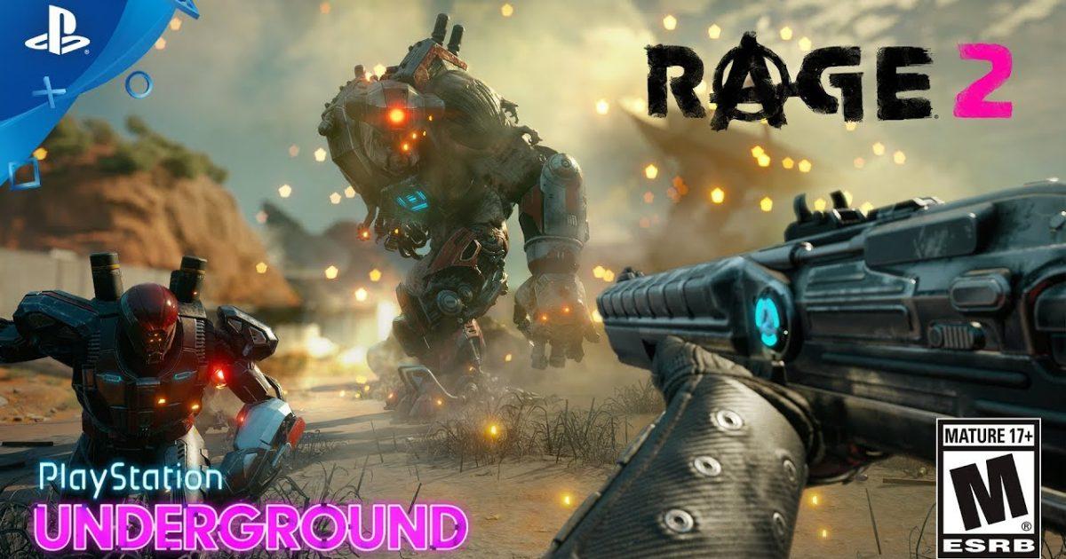 تحميل لعبة Rage 2 للبلاي ستيشن 4 مجانا موقع برنامج